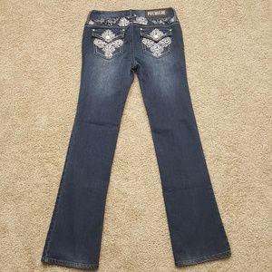Premiere Jeans Mid Rise Boot Cut 3/4 Reg  A2-22